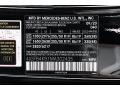 2021 GLE 350 4Matic Black Color Code 040