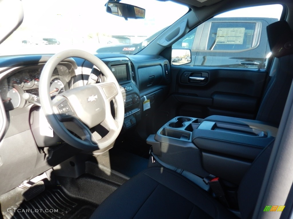 2021 Silverado 1500 WT Crew Cab 4x4 - Silver Ice Metallic / Jet Black photo #7