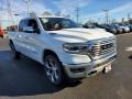 Ivory White Tri-Coat Pearl - 1500 Long Horn Crew Cab 4x4 Photo No. 1