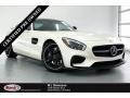 designo Diamond White Metallic 2017 Mercedes-Benz AMG GT Coupe