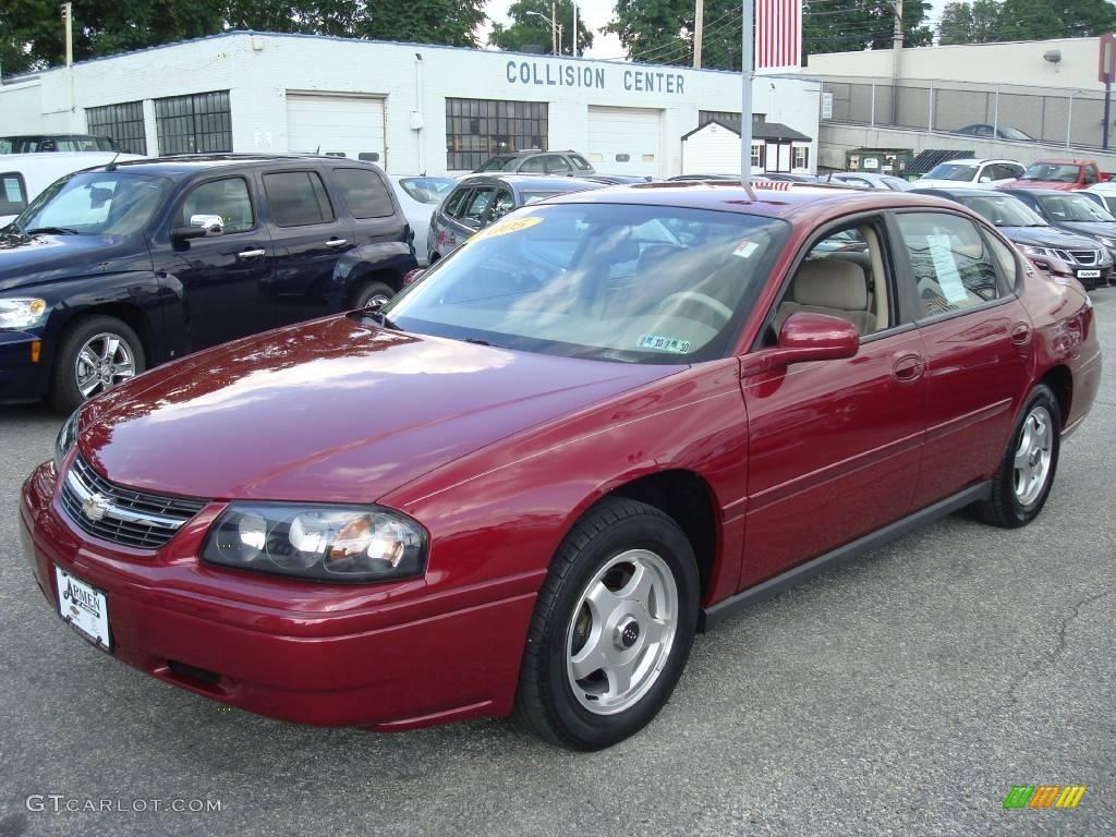 2005 sport red metallic chevrolet impala 13890237. Black Bedroom Furniture Sets. Home Design Ideas