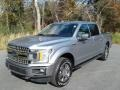2020 Iconic Silver Ford F150 XLT SuperCrew 4x4  photo #2