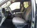 Medium Earth Gray Front Seat Photo for 2020 Ford F150 #140150937