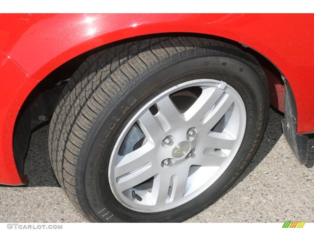 2007 Cobalt LT Sedan - Victory Red / Ebony photo #11