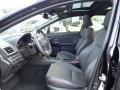 Carbon Black Interior Photo for 2020 Subaru WRX #140191266