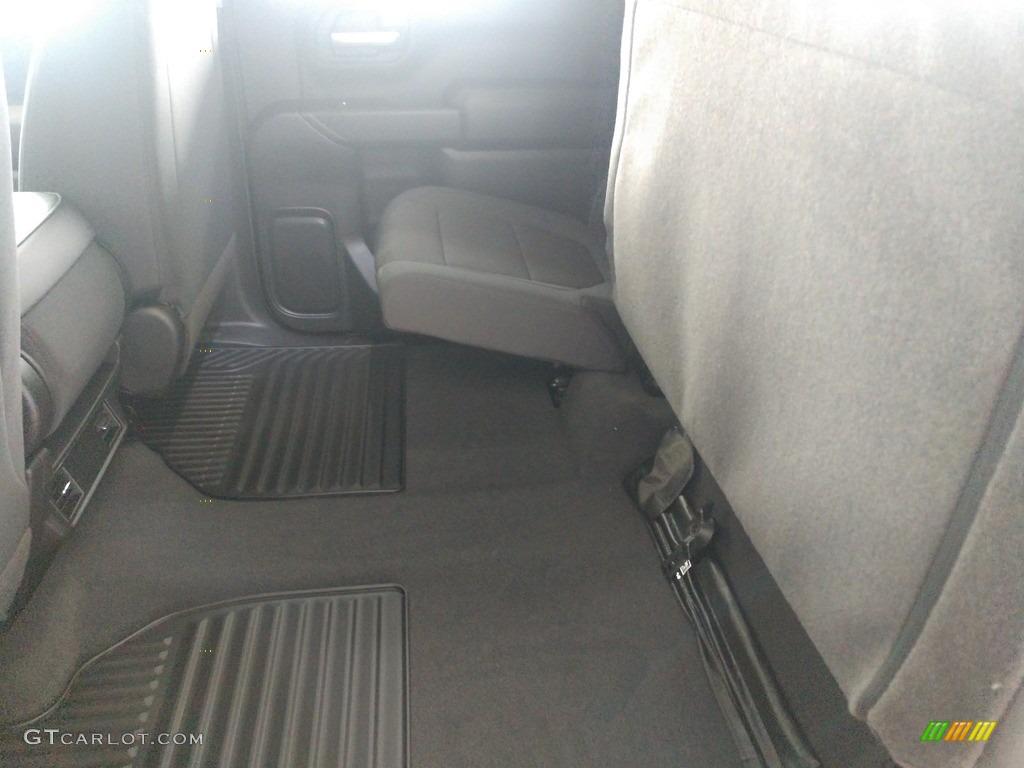 2021 Silverado 1500 Custom Crew Cab 4x4 - Black / Jet Black photo #18