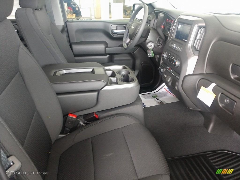 2021 Silverado 1500 Custom Crew Cab 4x4 - Black / Jet Black photo #20