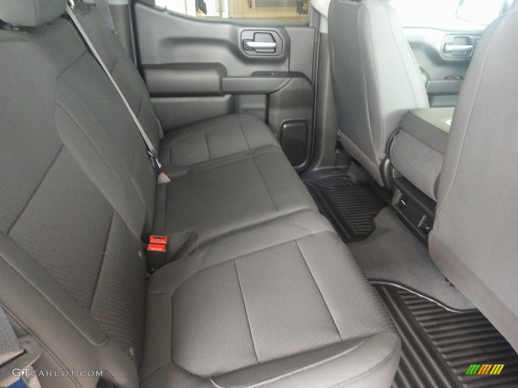 2021 Silverado 1500 Custom Crew Cab 4x4 - Black / Jet Black photo #21