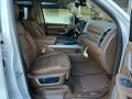 Front Seat of 2021 1500 Long Horn Crew Cab 4x4
