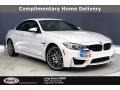 Alpine White 2017 BMW M4 Convertible