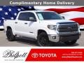 2019 Super White Toyota Tundra TSS Off Road CrewMax 4x4 #140211987