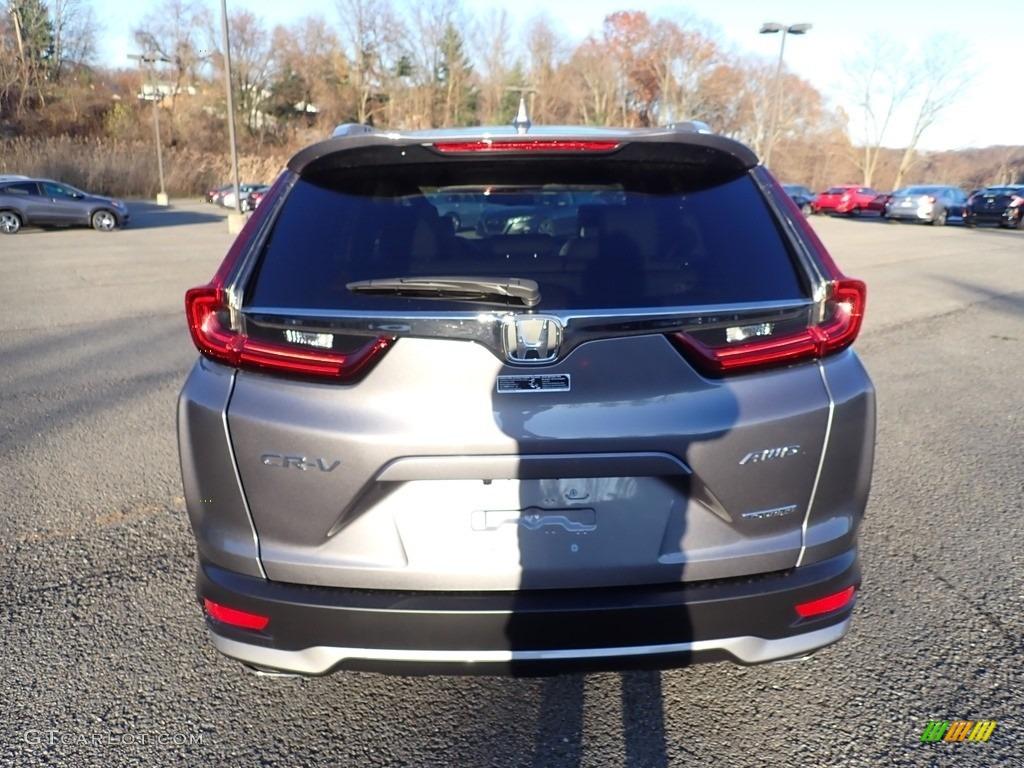 2021 CR-V Touring AWD - Modern Steel Metallic / Black photo #4