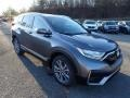 2021 Modern Steel Metallic Honda CR-V Touring AWD  photo #6