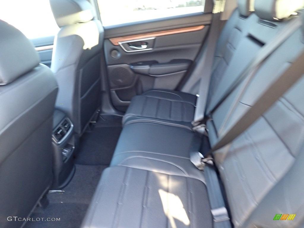 2021 CR-V Touring AWD - Modern Steel Metallic / Black photo #8