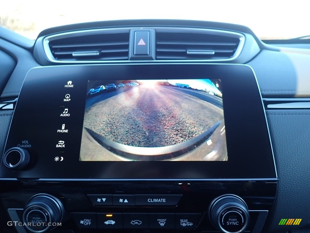 2021 CR-V Touring AWD - Modern Steel Metallic / Black photo #14