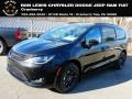 Brilliant Black Crystal Pearl 2020 Chrysler Pacifica Launch Edition AWD