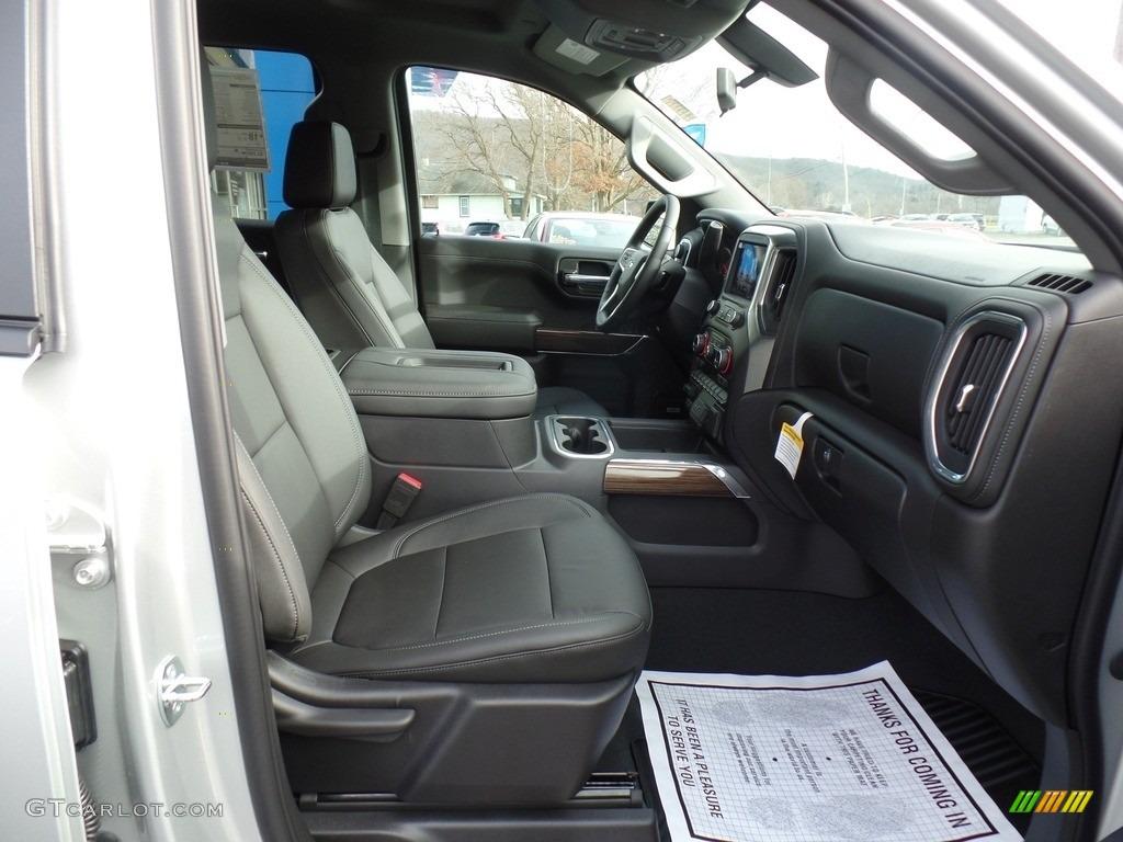 2021 Silverado 1500 RST Crew Cab 4x4 - Silver Ice Metallic / Jet Black photo #49