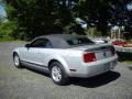 2007 Satin Silver Metallic Ford Mustang V6 Deluxe Convertible  photo #4