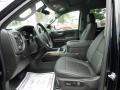 Jet Black Interior Photo for 2021 Chevrolet Silverado 1500 #140303272