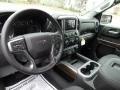 Jet Black Dashboard Photo for 2021 Chevrolet Silverado 1500 #140303311