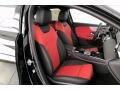 2021 A 220 Sedan Classic Red/Black Interior