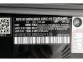 2021 G 63 AMG Obsidian Black Metallic Color Code 197