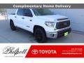 2021 Super White Toyota Tundra SR5 CrewMax 4x4 #140318152