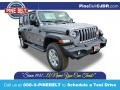 2021 Billet Silver Metallic Jeep Wrangler Unlimited Sport 4x4 #140332503