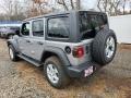 2021 Billet Silver Metallic Jeep Wrangler Unlimited Sport 4x4  photo #4