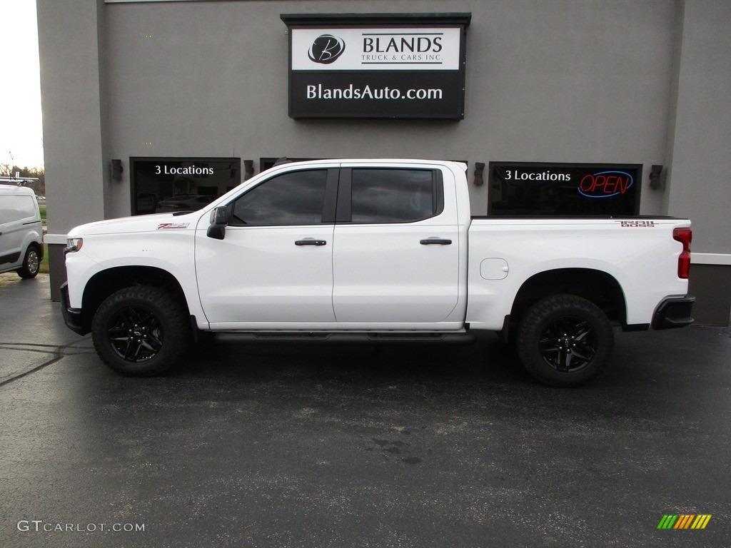 2020 Silverado 1500 LT Trail Boss Crew Cab 4x4 - Summit White / Jet Black photo #1