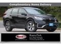 2020 Crystal Black Pearl Honda CR-V LX  photo #1