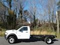 Bright White 2020 Ram 5500 Tradesman Regular Cab 4x4 Chassis