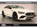 designo Diamond White Metallic 2021 Mercedes-Benz AMG GT 43