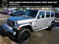 2021 Billet Silver Metallic Jeep Wrangler Unlimited High Altitude 4x4 #140381137