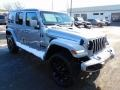 2021 Billet Silver Metallic Jeep Wrangler Unlimited High Altitude 4x4  photo #3