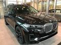 Black Sapphire Metallic 2021 BMW X7 xDrive40i
