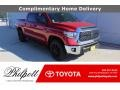 2021 Barcelona Red Metallic Toyota Tundra SR5 Double Cab #140402308
