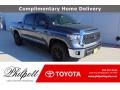 2021 Magnetic Gray Metallic Toyota Tundra SR5 CrewMax #140402306