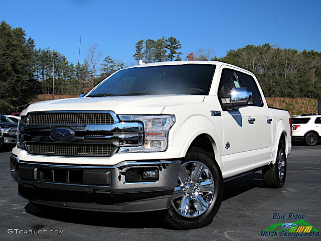 2020 F150 King Ranch SuperCrew - Star White / King Ranch Kingsville/Java photo #1