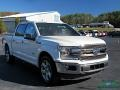 2020 Star White Ford F150 King Ranch SuperCrew  photo #7