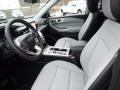 2021 Ford Explorer Light Slate Interior Front Seat Photo