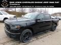 Diamond Black Crystal Pearl 2020 Ram 1500 Big Horn Crew Cab 4x4