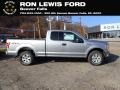 2020 Iconic Silver Ford F150 XLT SuperCab 4x4  photo #1