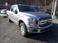 2020 Iconic Silver Ford F150 XLT SuperCab 4x4  photo #3