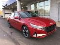 Scarlet Red Pearl 2021 Hyundai Elantra SEL