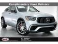 Cirrus Silver Metallic 2021 Mercedes-Benz GLC AMG 63 4Matic Coupe