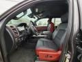 Front Seat of 2021 1500 Rebel Crew Cab 4x4