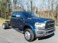Front 3/4 View of 2021 4500 Laramie Crew Cab 4x4 Chassis
