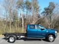 2021 4500 Laramie Crew Cab 4x4 Chassis Hydro Blue Pearl