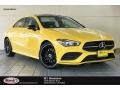 Sun Yellow 2020 Mercedes-Benz CLA 250 Coupe